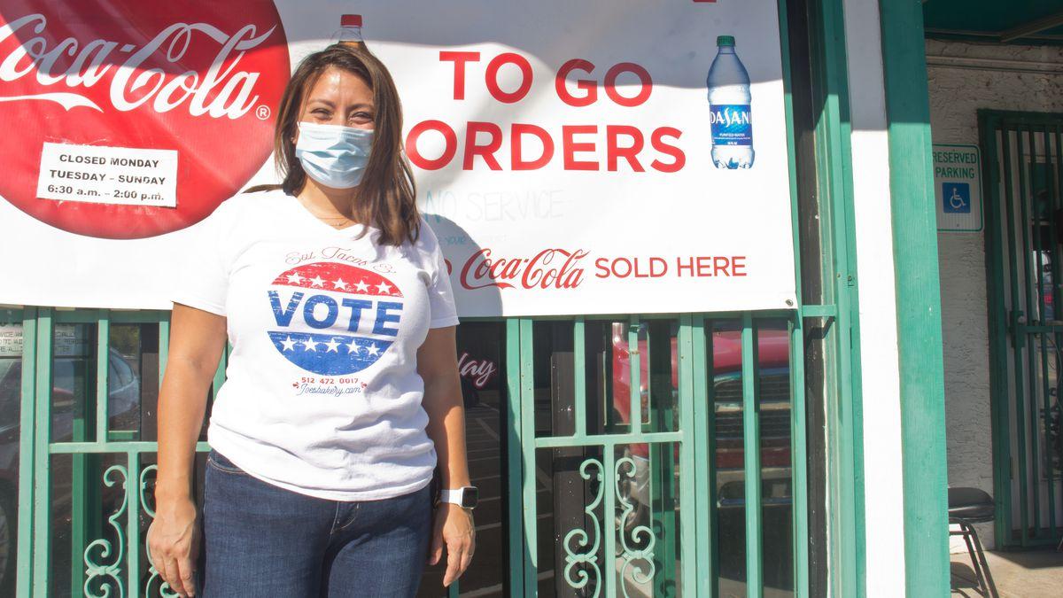 Regina Estrada of Joe's Bakery