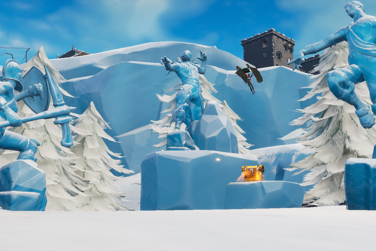 Search where the magnifying glass sits on the Treasure Map loading screen guide season 3 week 8