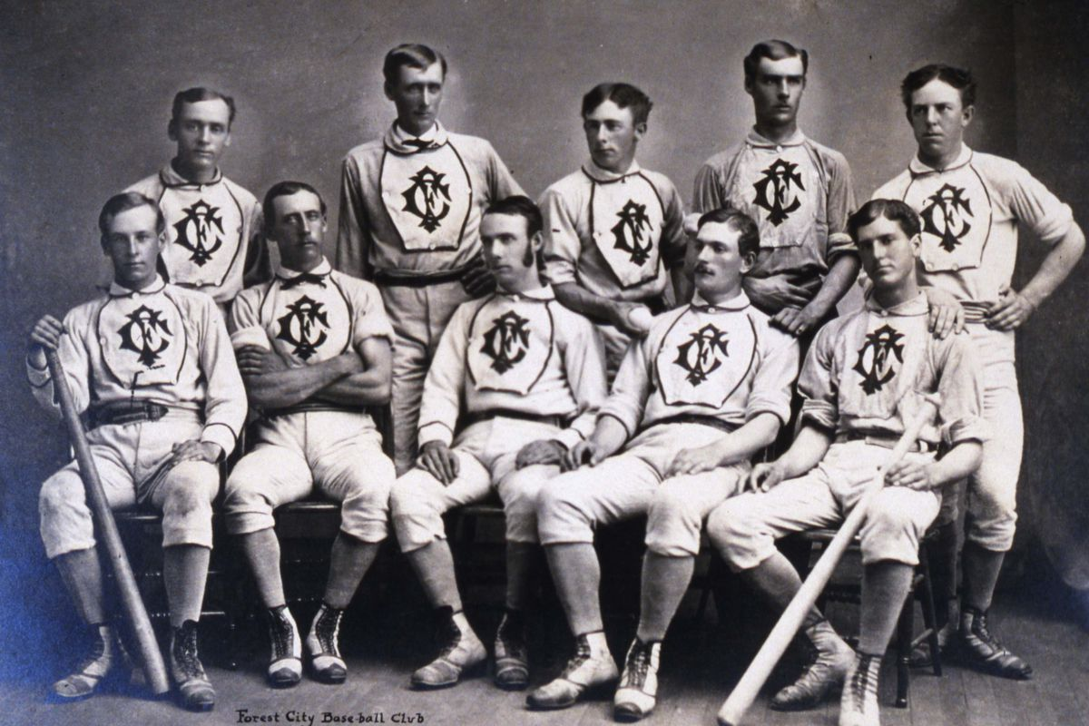 Forest City Base Ball Club of Cleveland 1870