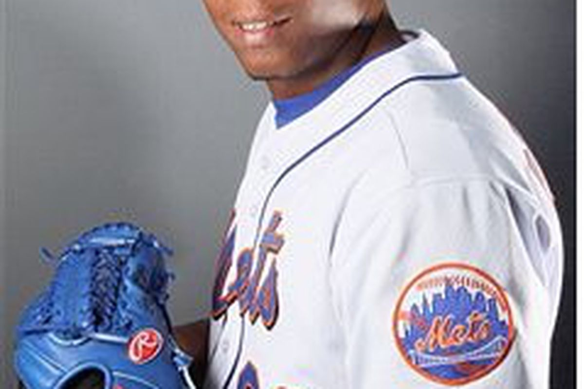 New York Mets pitching prospect Armando Rodriguez (Photo by Elsa/Getty Images)