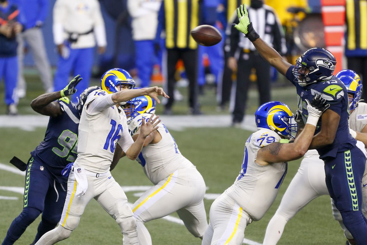 Seattle Seahawks Vs Los Angeles Rams Week 16 Snap Counts Field Gulls