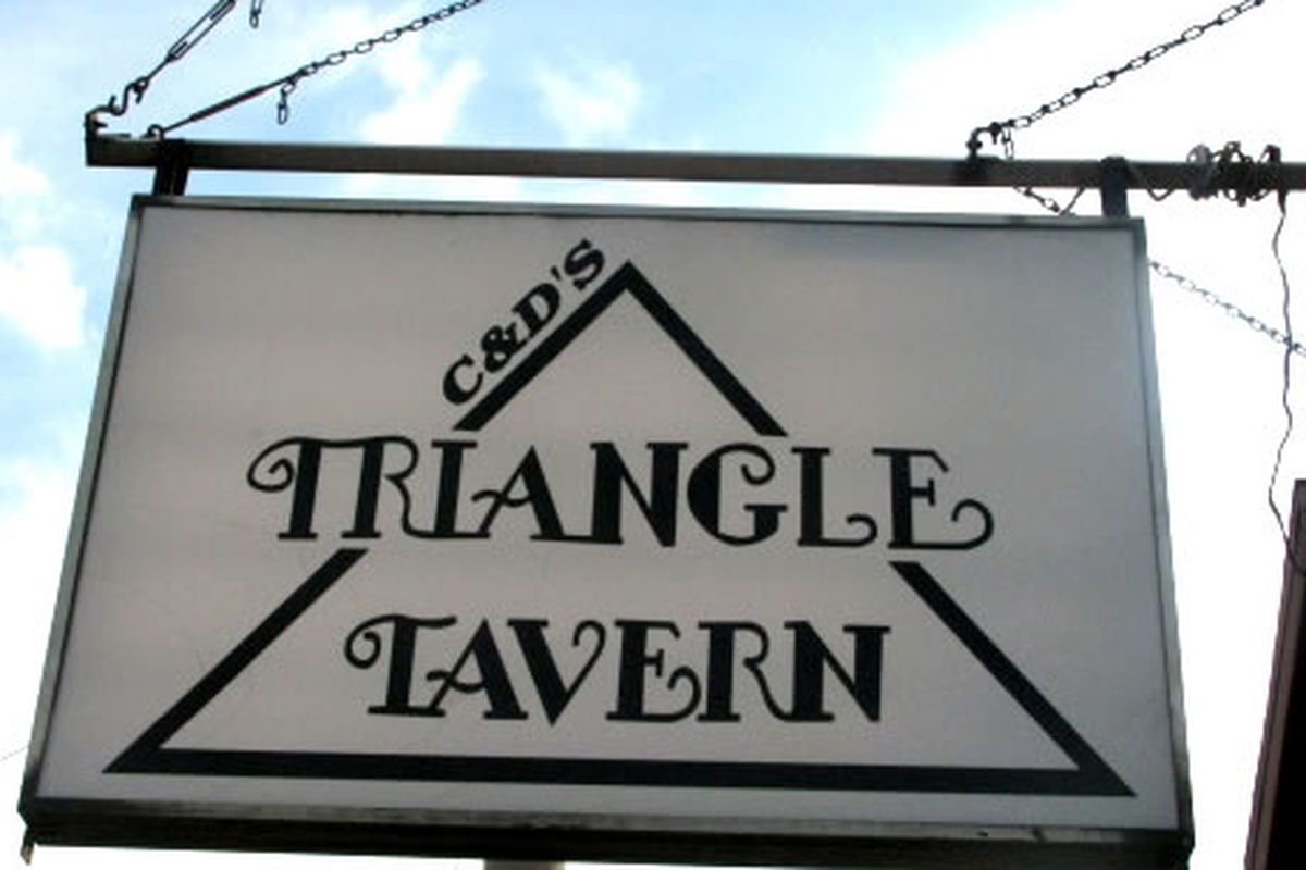 The Triangle Tavern is coming back.