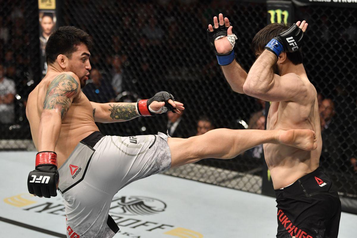 UFC Fight Night: Aguilar v Tukhugov