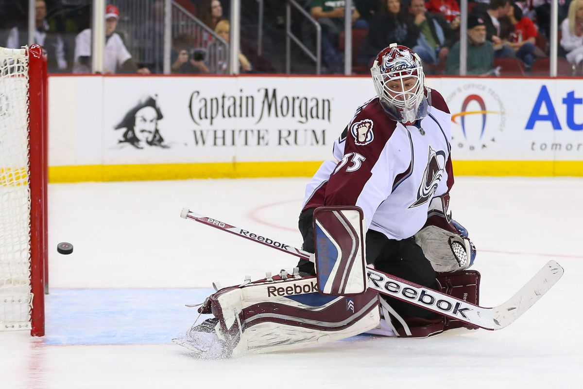 Story of the night: Beating Giguere and but not iron.