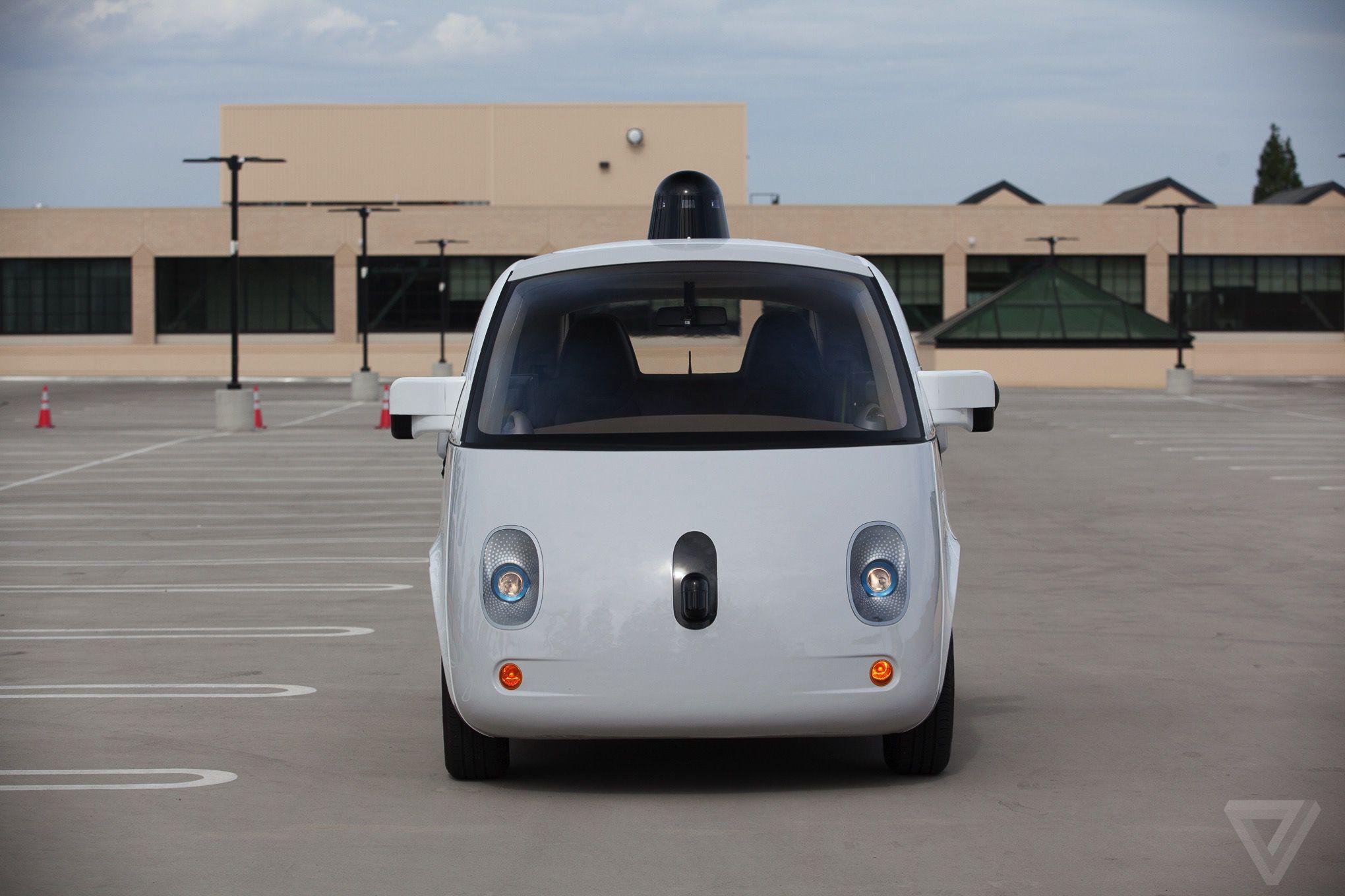 Google's self-driving car prototype