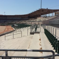Looking at where seats used to be down the LF line