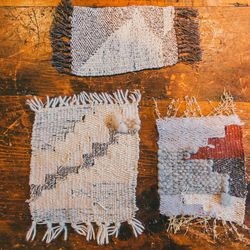 New Friends weavings, $105 (sold individually)