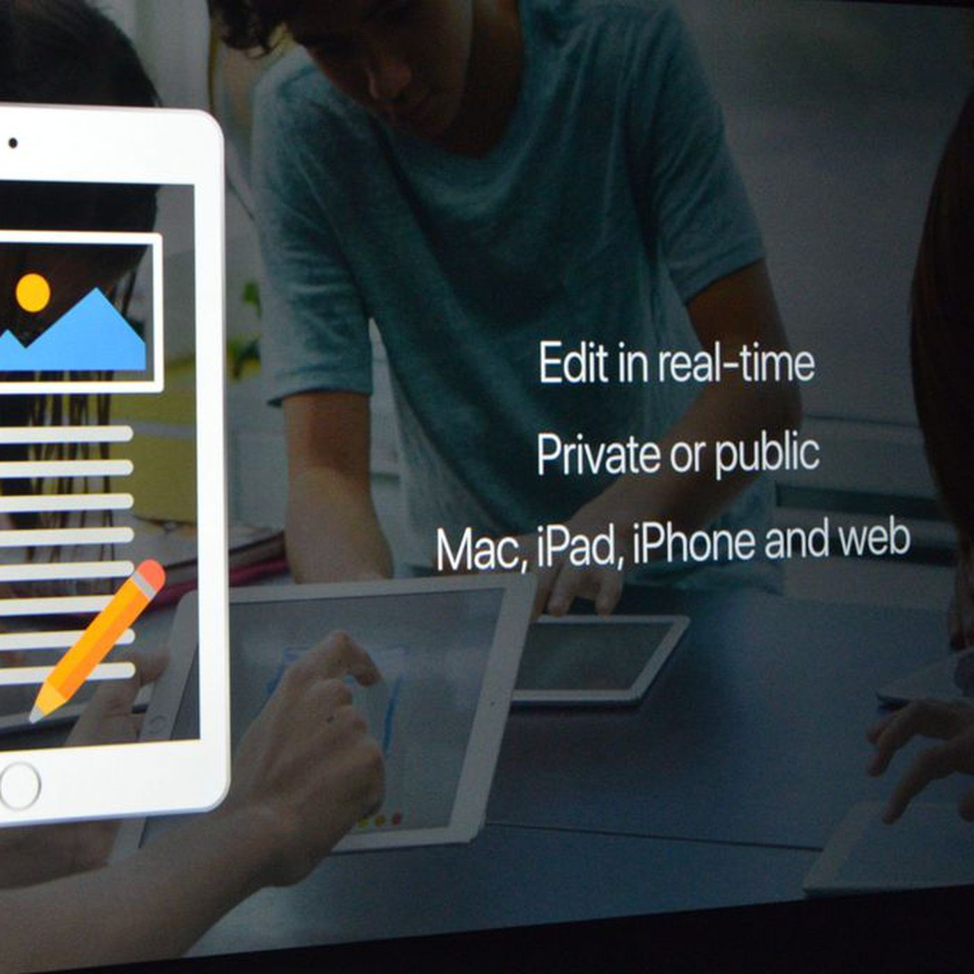 Apple unveils real-time collaboration for iWork - The Verge