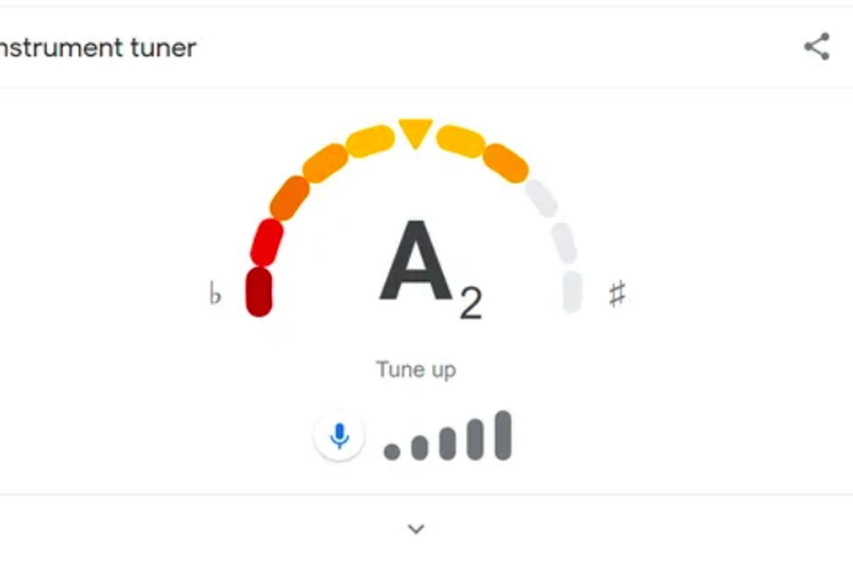 """Google Search has a new feature that lets anyone with a phone or computer tune a guitar by typing in """"google tuner."""""""