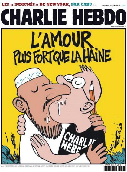 Charlie Hebdo Love Hate