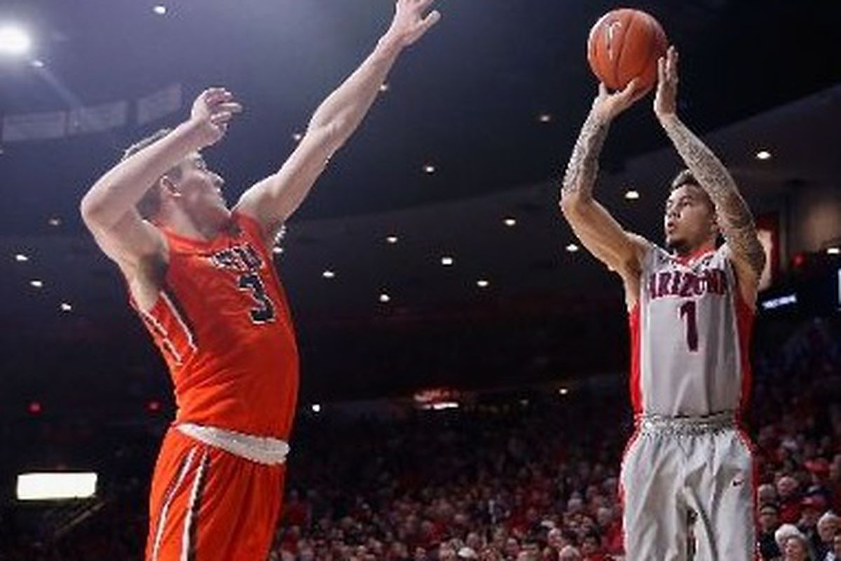 Gabe York gunned down Oregon State Saturday night, nailing a career high 6 3 pointers.