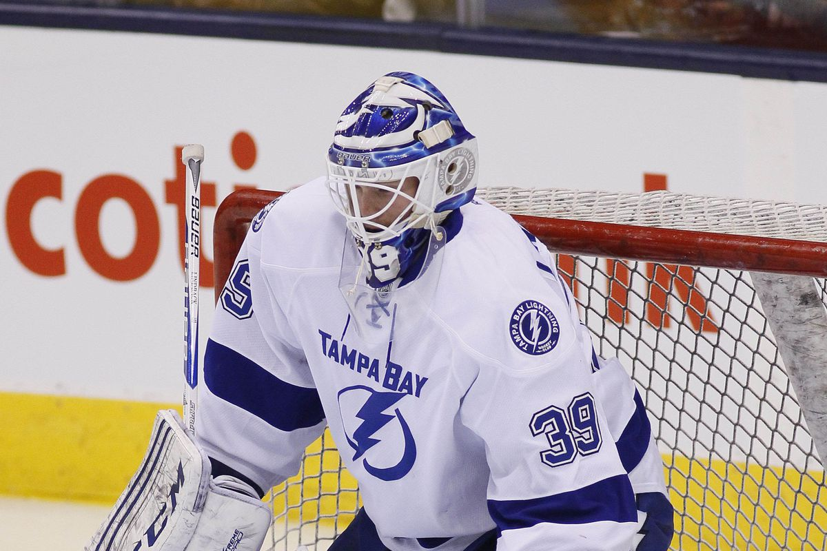 Anders Lindback will not be with the Lightning as they face his former team on Thursday.