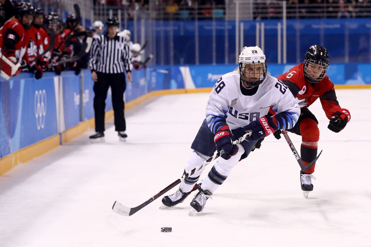 Megan Keller talks women's hockey gold medal win