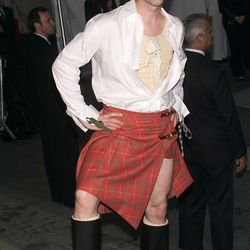 Alan Cumming channeled 'Braveheart' in 2001; odd, considering that that year's theme was 'Jacqueline Kennedy: The White House Years.'