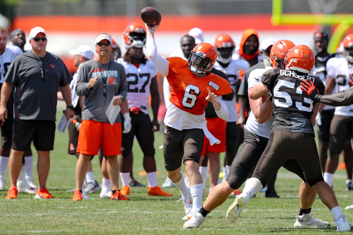 NFL: AUG 05 Browns Training Camp