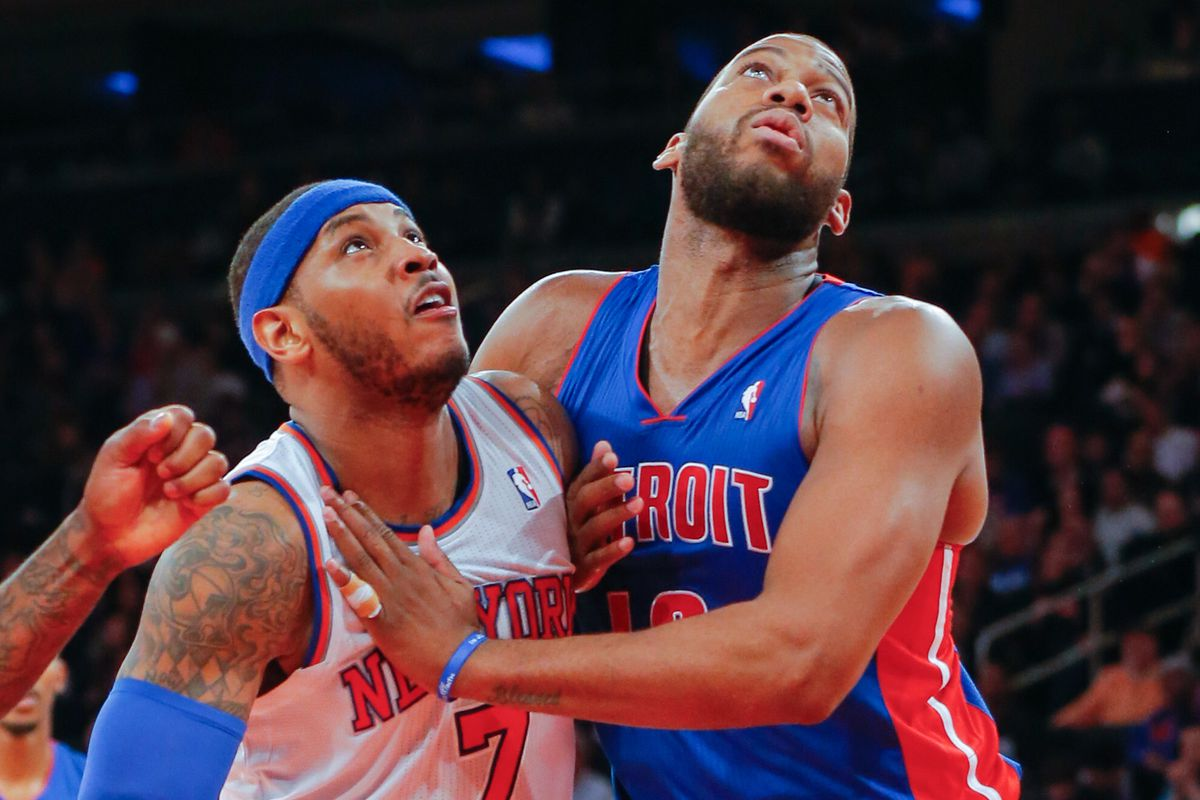 What's up there Carmelo Anthony and Greg Monroe? An amazing Nuggets draft pick?