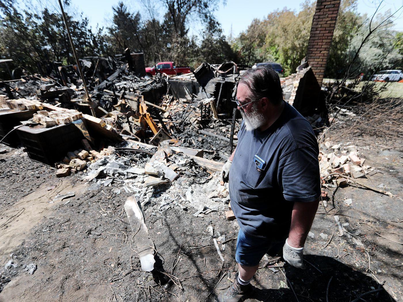 Grateful residents return to neighborhood evacuated by Gun