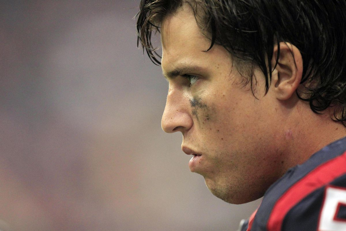 Brian Cushing will likely be watching Case Keenum with some measure of intensity.