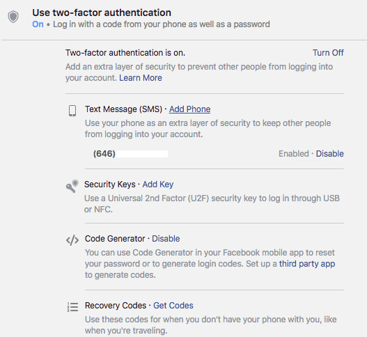 How to set up two-factor authentication on all your online
