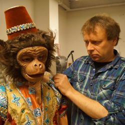 """Robert Allsopp & Associates has created some of the most recognizable costumes and masks for the film and television industry, including the helmet used by X-Men's Magneto and the armor Russell Crowe wears in Gladiator. The London-based company created the masks of several animals for Ballet West's new production of """"The Nutcracker."""""""