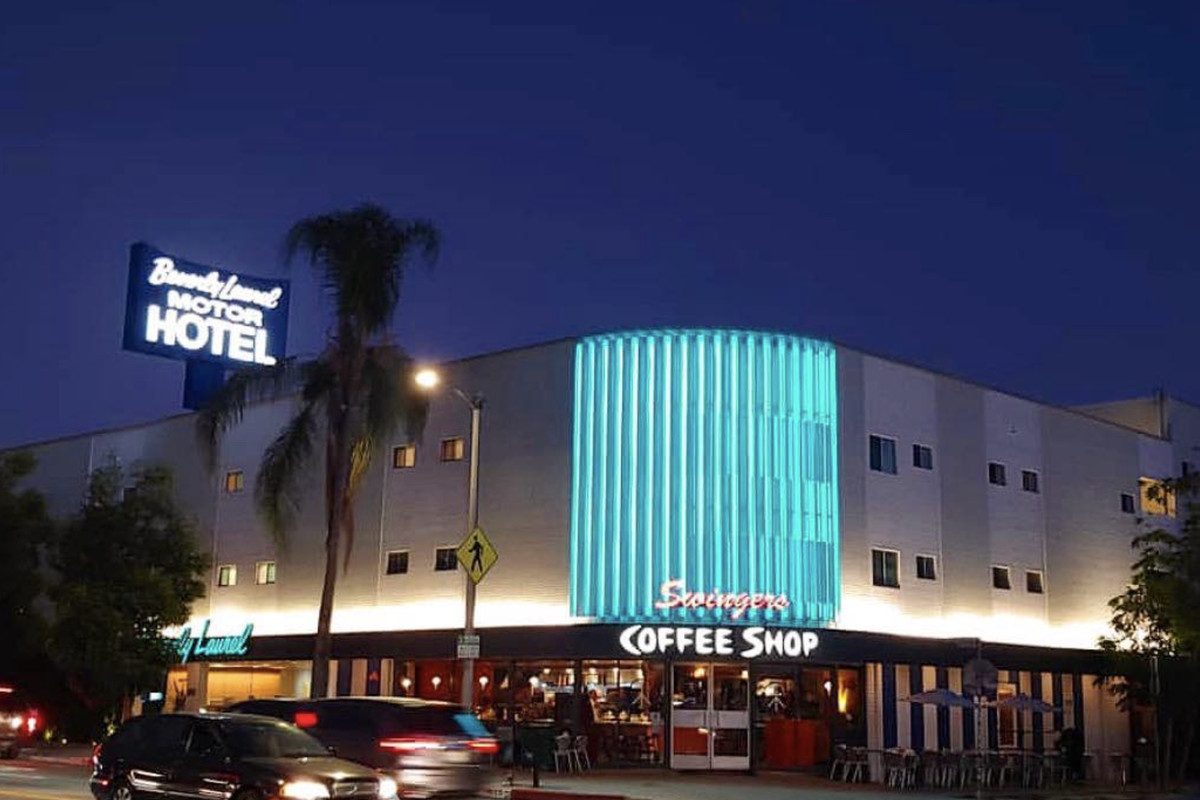 Swingers diner in Los Angeles