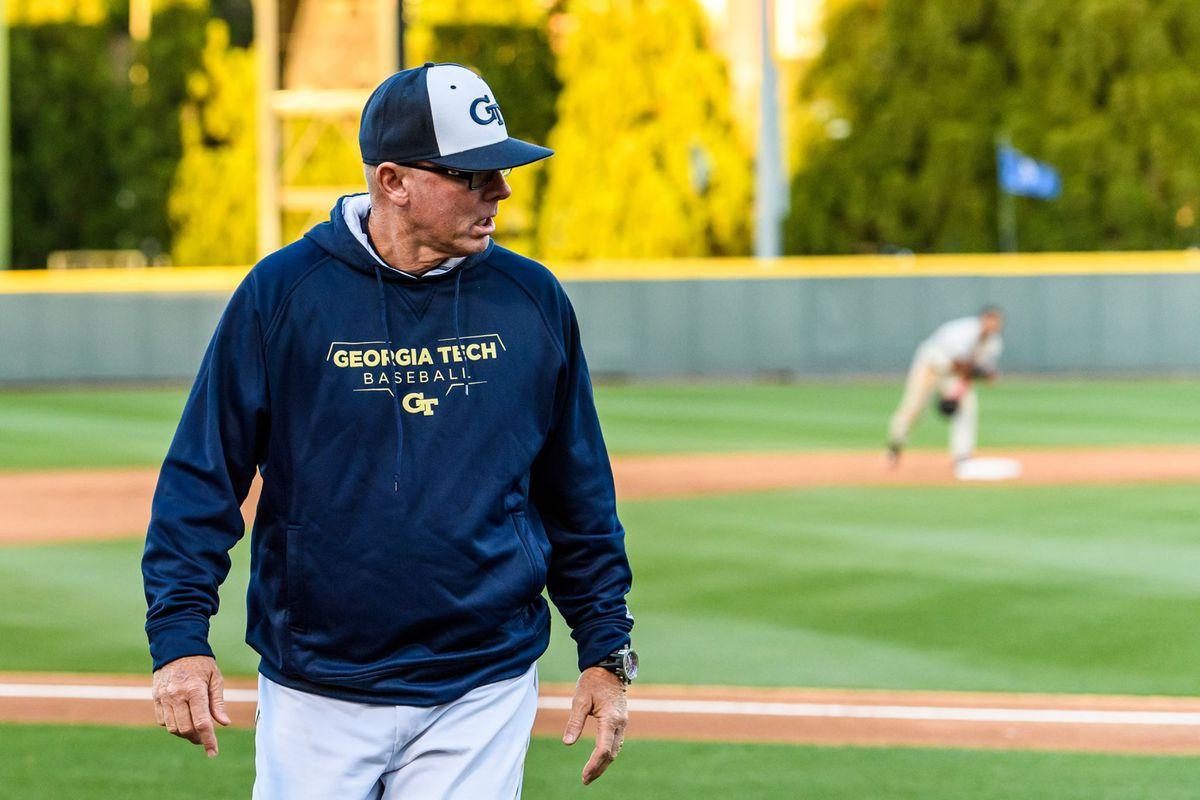 Georgia Tech head baseball coach Danny Hall