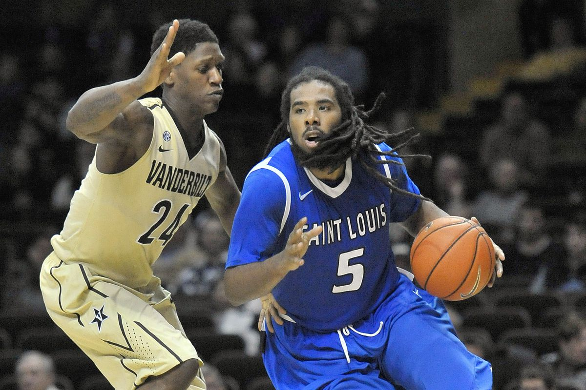 Jordair Jett scored a career high 31 points in the Billikens one point victory against Rhode Island