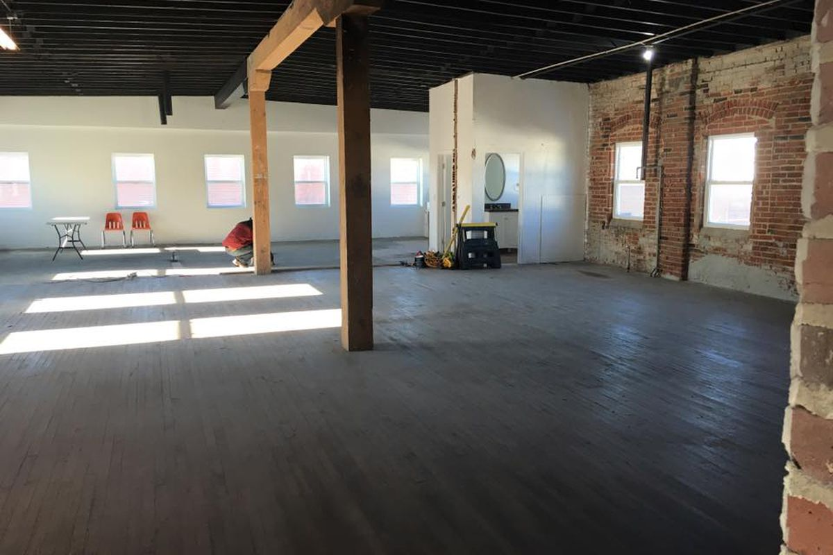The space at 3200 Walnut Street looks promising
