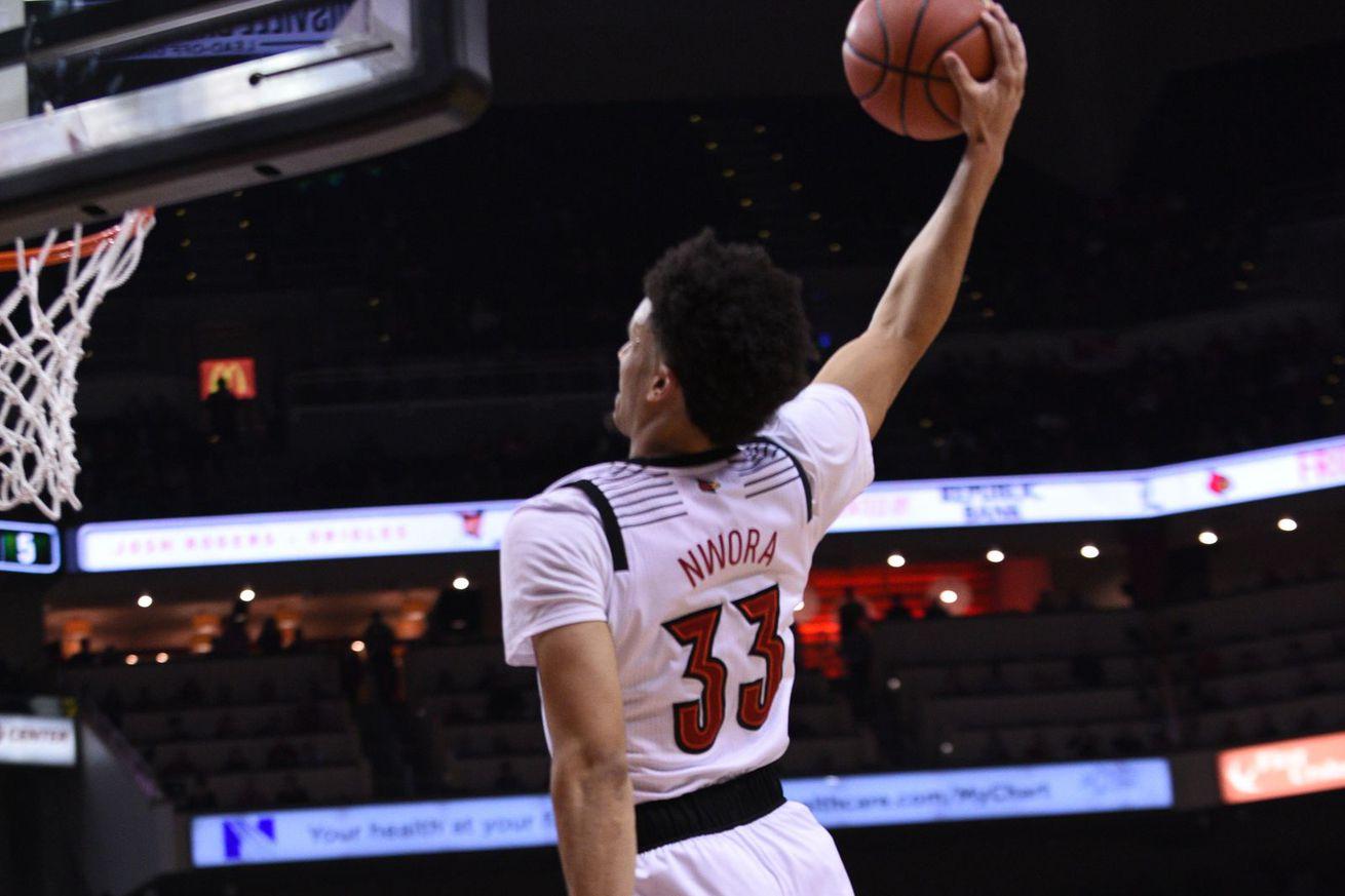 Jordan Nwora named ACC Preseason Player of the Year, Louisville picked 3rd