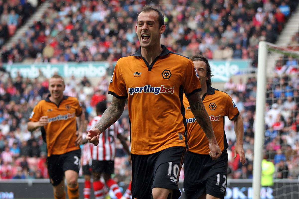 Thankfully we've loads of pictures we can use of Steven Fletcher. Here's another one of him scoring against us.