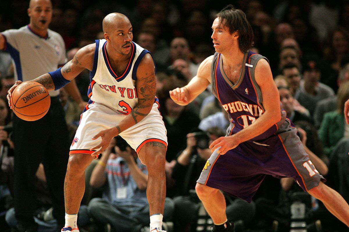 NBA Basketball 2005 - Knicks vs. Suns