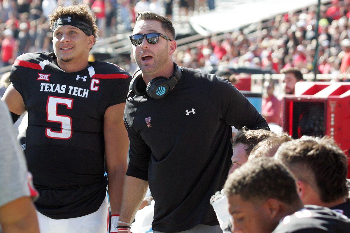 NCAA Football: West Virginia at Texas Tech