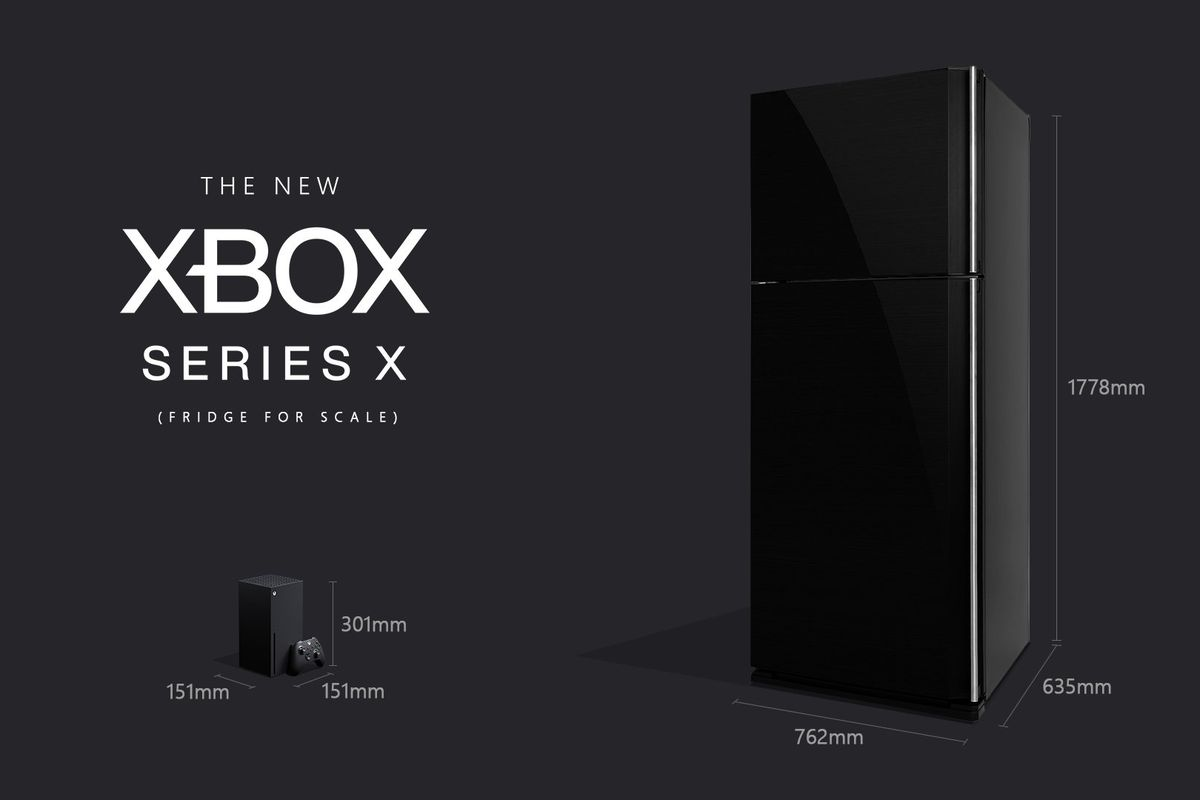 Microsoft assures Xbox fans that the Series X is, in fact, smaller ...