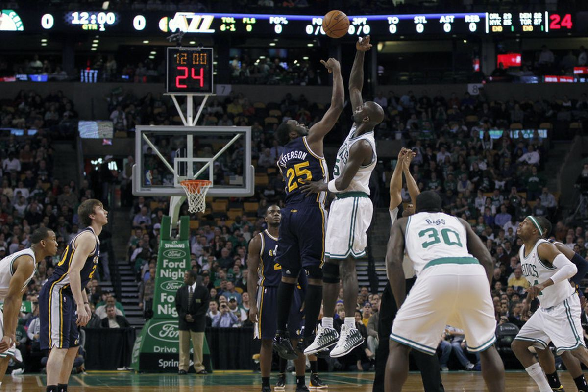 NBA Regular Season: Utah Jazz (4-4) at Boston Celtics (4-3 ...