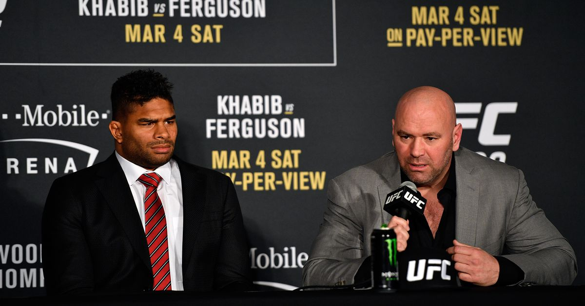 Dana White on cutting Overeem and dos Santos - 'We loved those guys, it's just part of the sport' - MMA Mania