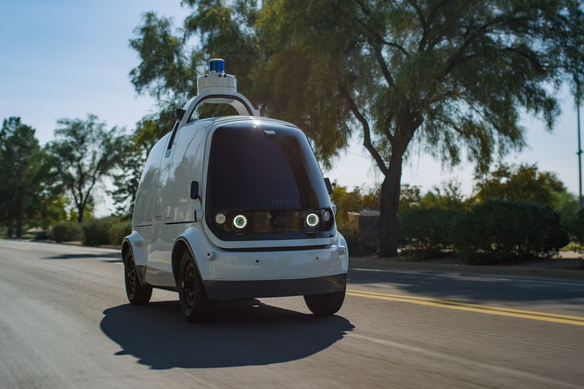 Nuro's robot delivery cars are coming to Houston, Texas