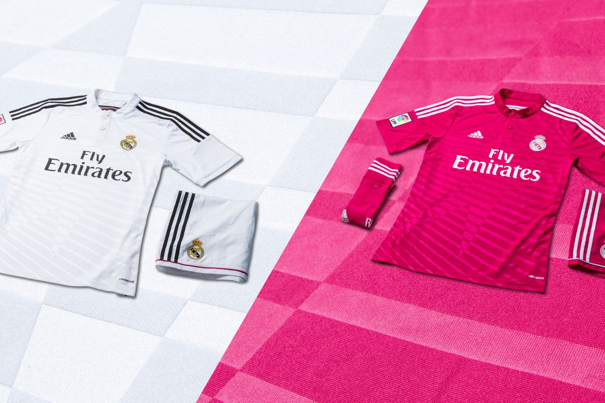 half off 9a9d2 3767d adidas and Real Madrid unveil 2014/15 home & away kits ...