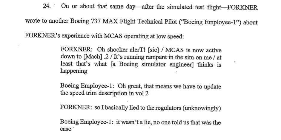 Boeing 737 Max indictment