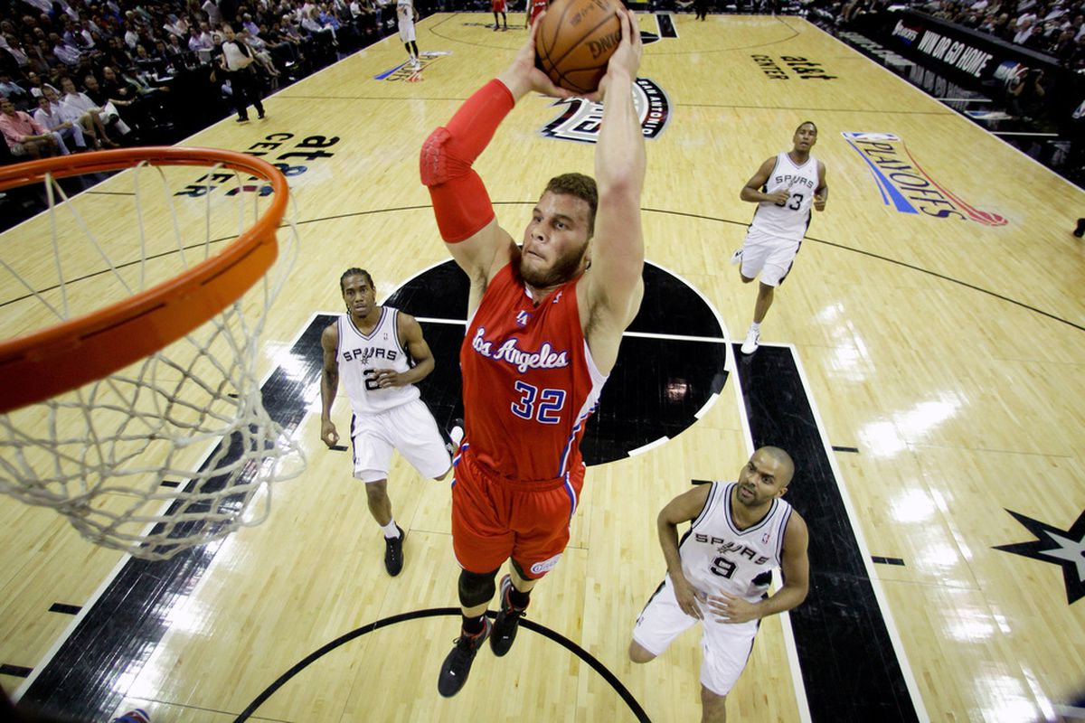 Think about a raw Blake Griffin. Same last name, different first one. You might come up with Campbell's Eric Griffin.