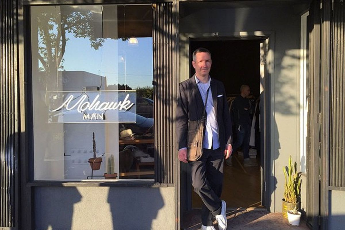 9ea0fc790 Dries Van Noten's First Trip to LA Included a Visit to Silver Lake's Mohawk  Man