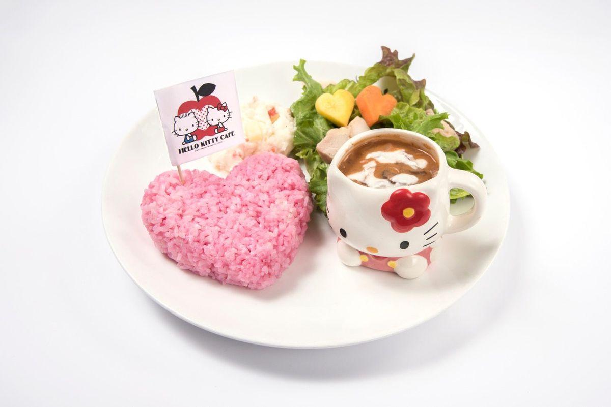 Hello Kitty beef stroganoff