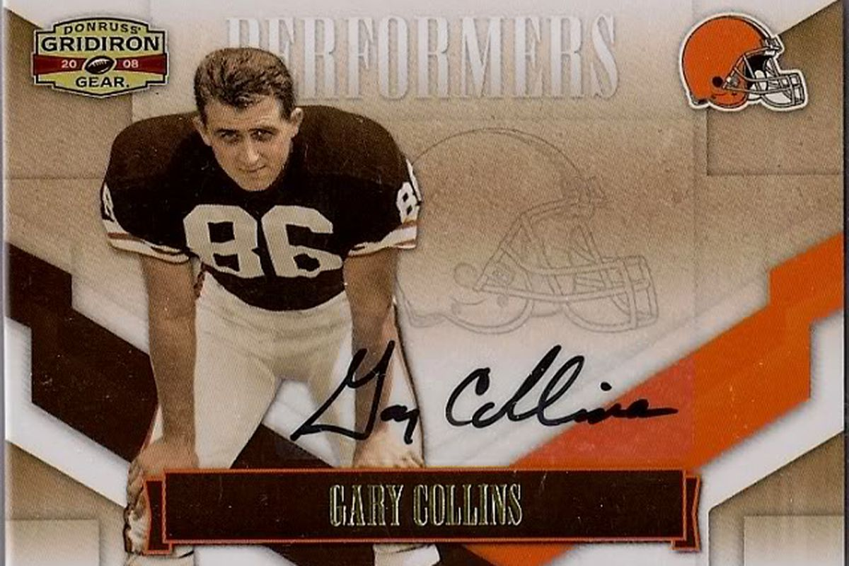Gary Collins - Cleveland Browns 1962-1971