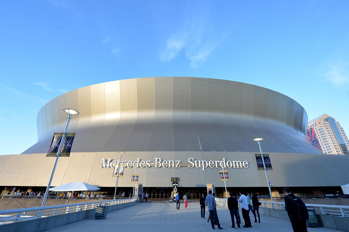 The New Orleans Superdome in 2014.