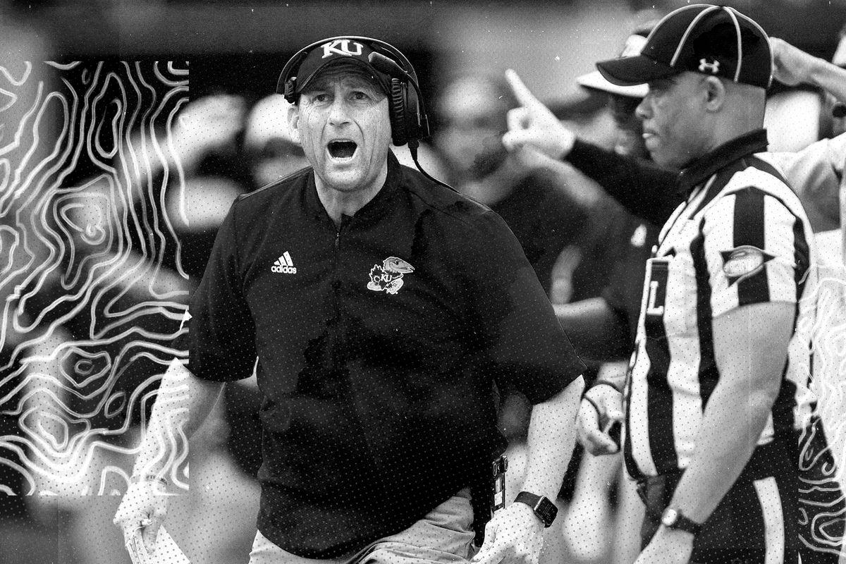 Kansas Jayhawks former head football coach David Beaty.