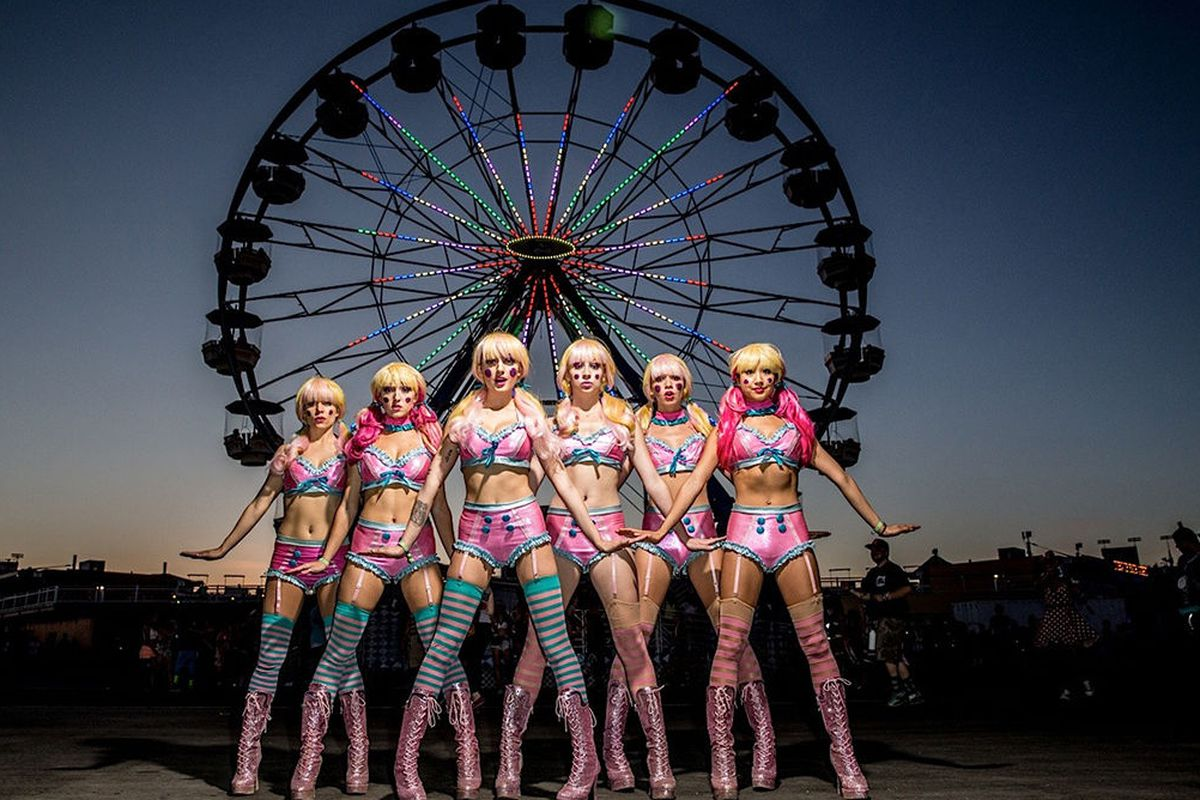 Electric Daisy Carnival characters