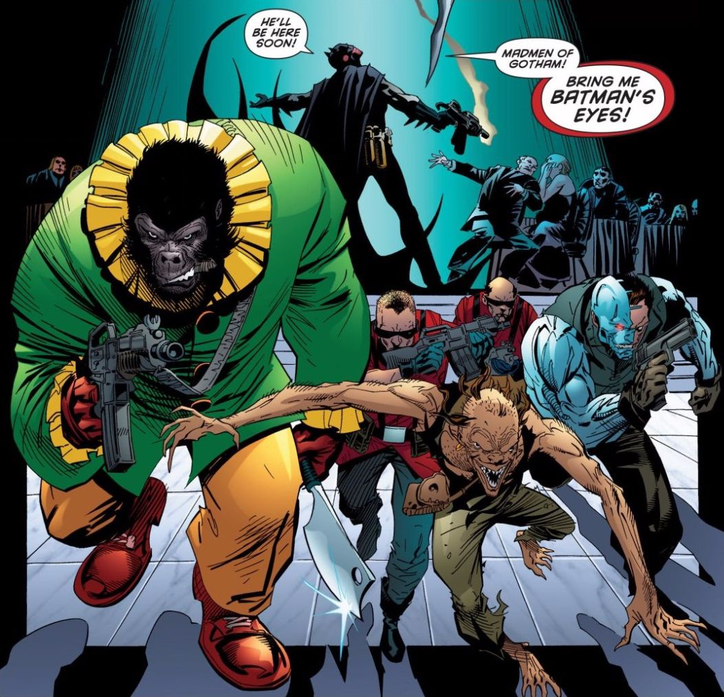 Villains appearing in Batman #666