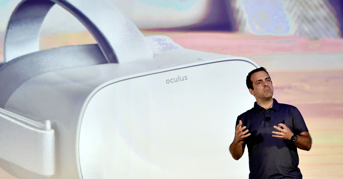 Facebook's Oculus boss thinks standalone headsets are the key to getting a billion people into VR