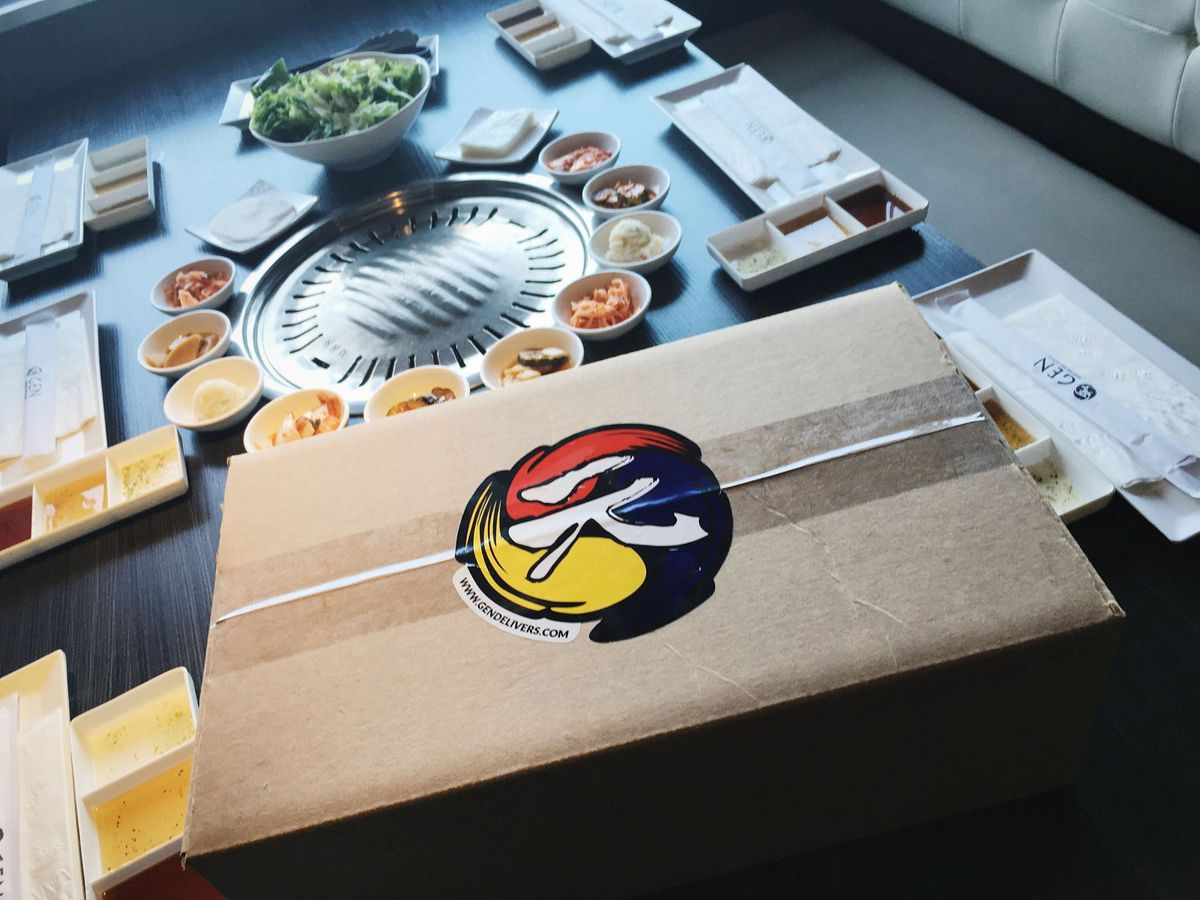 Korean Food Delivery Sf