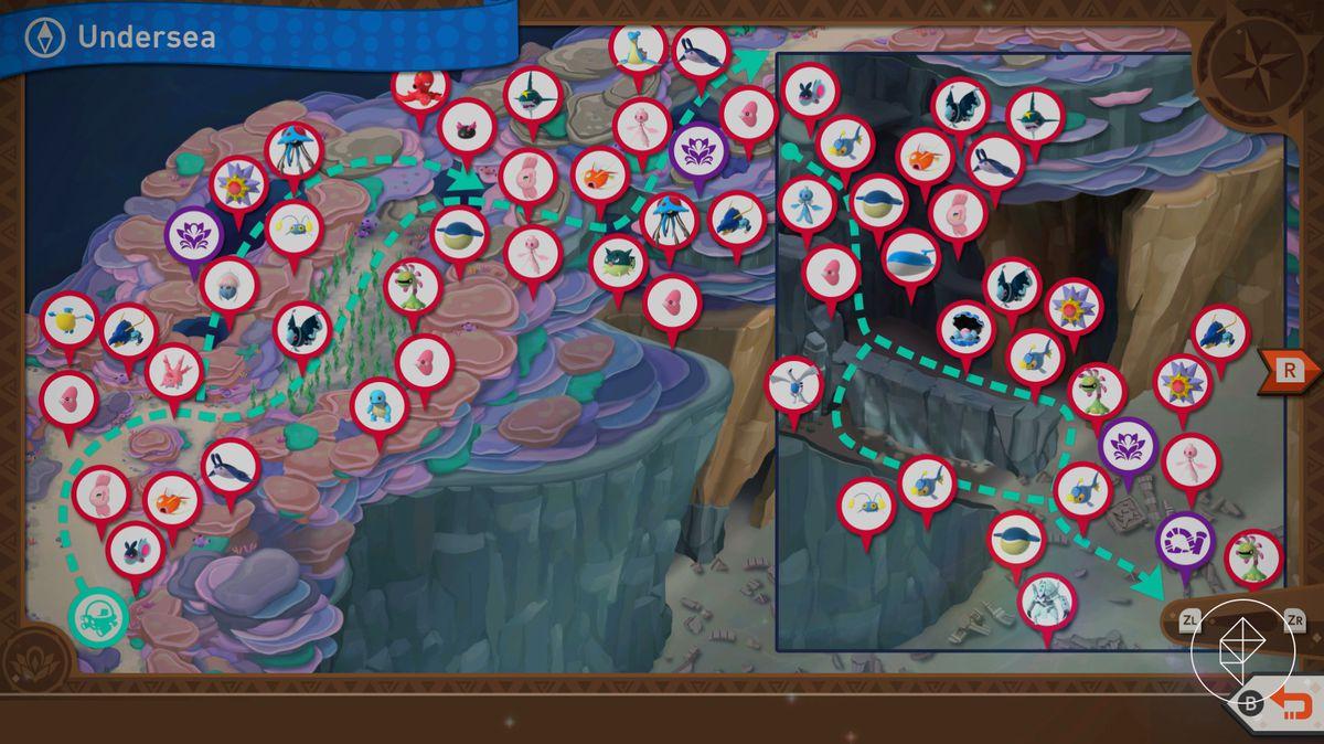 A map of Lental Seafloor