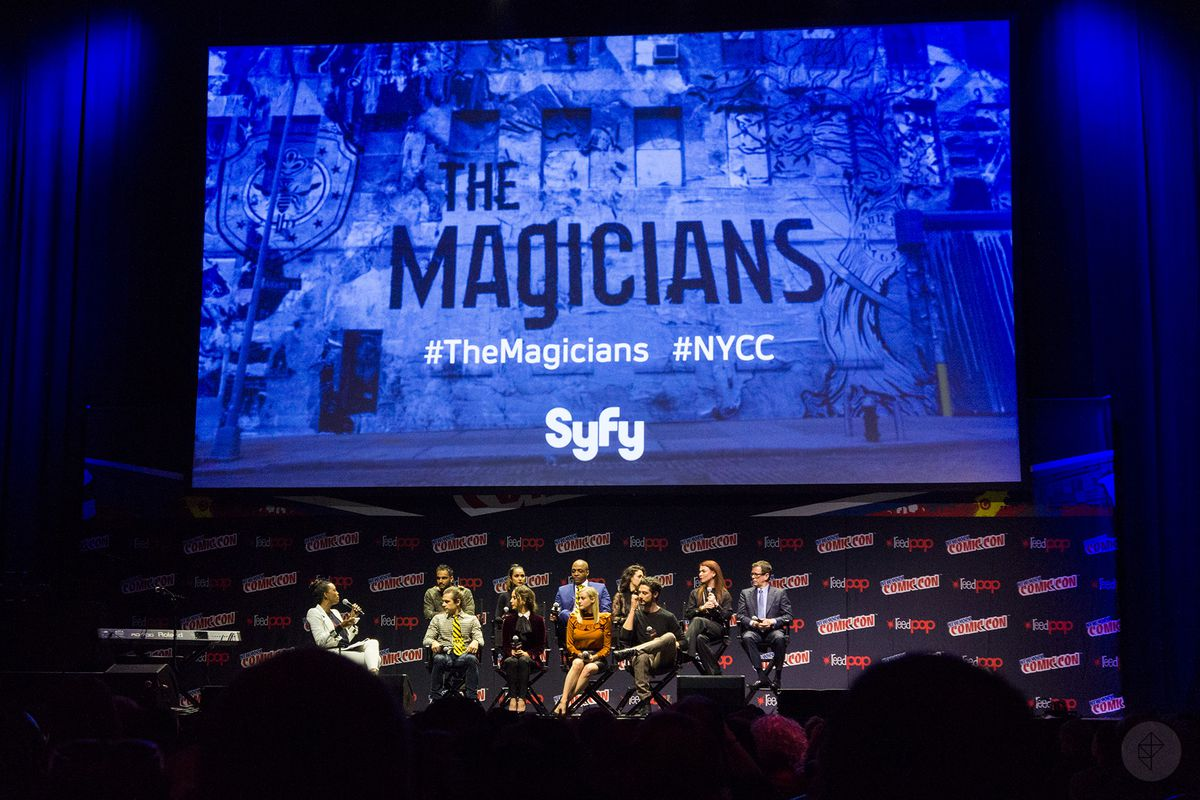 The Magicians NYCC 2016 panel